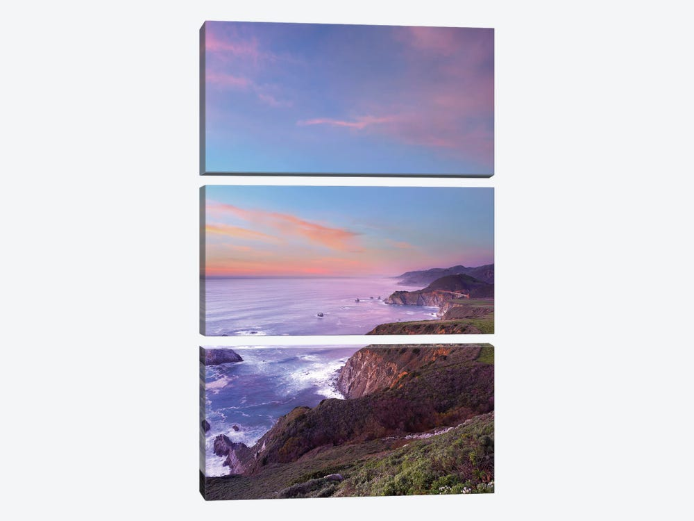 Bixby Bridge, Big Sur, California II 3-piece Art Print