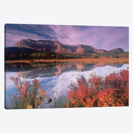 Sofa Mountain, Waterton Lakes National Park, Alberta, Canada Canvas Print #TFI1020} by Tim Fitzharris Canvas Print