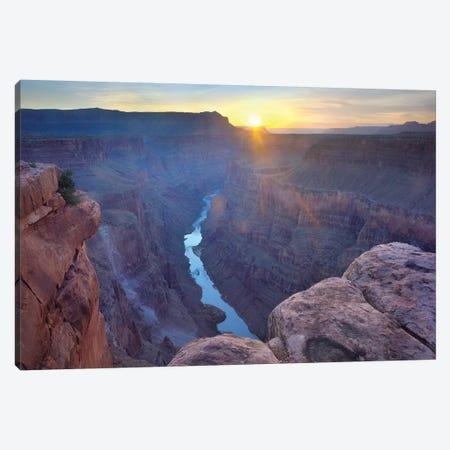Sunrise As Seen From Toroweap Overlook, Grand Canyon National Park, Arizona Canvas Print #TFI1046} by Tim Fitzharris Canvas Wall Art