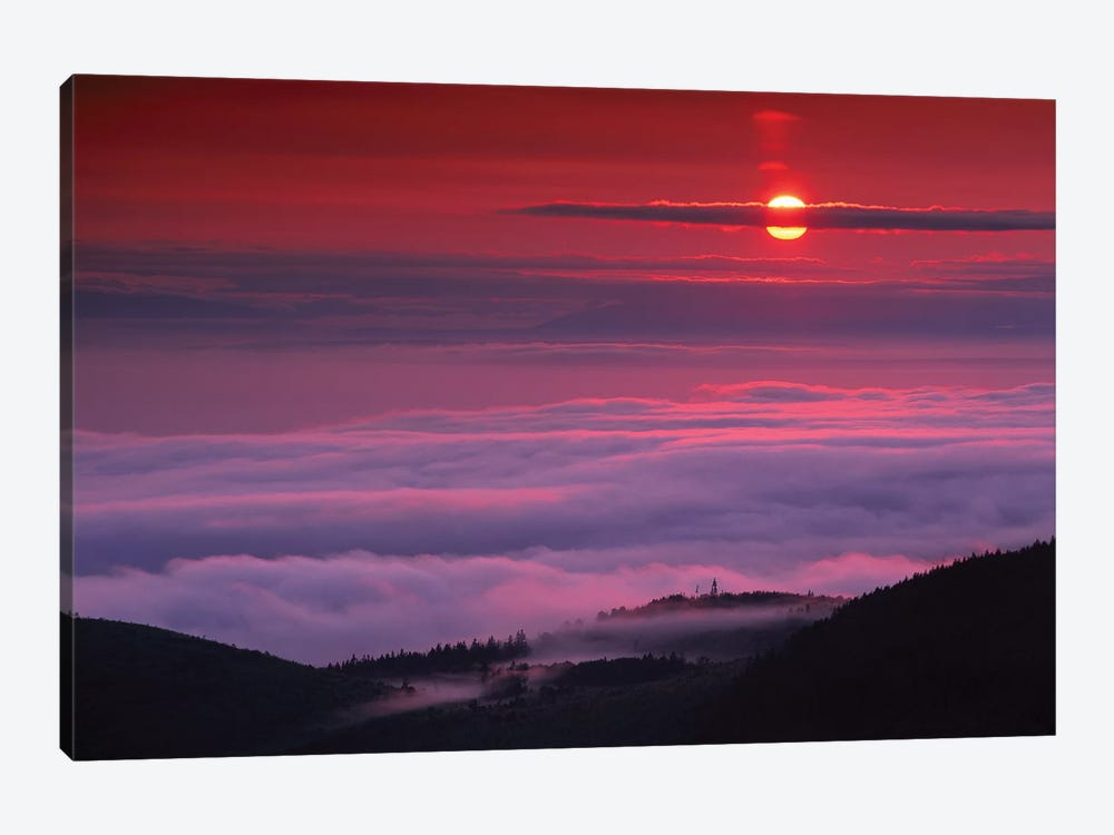 Sunrise At Hurricane Ridge, Olympic National Park, Washington by Tim Fitzharris 1-piece Canvas Artwork
