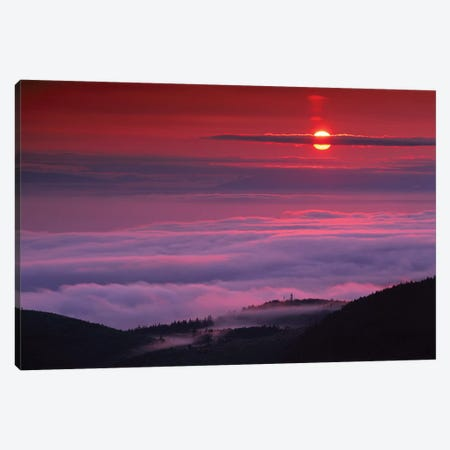 Sunrise At Hurricane Ridge, Olympic National Park, Washington Canvas Print #TFI1047} by Tim Fitzharris Canvas Art