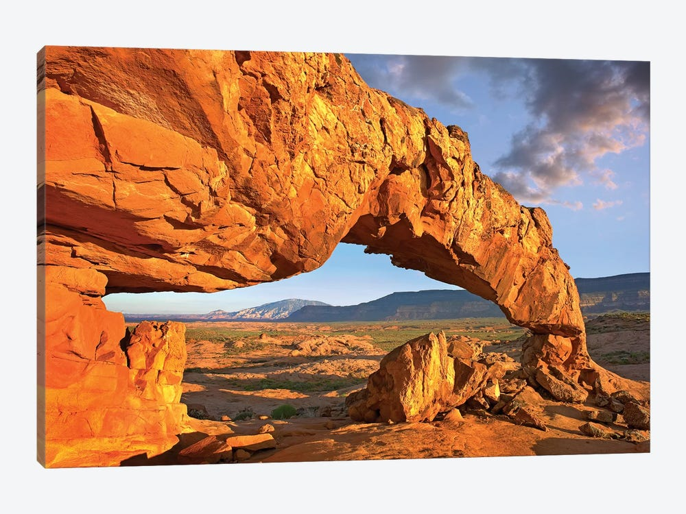 Sunset Arch, Escalante National Monument, Utah I by Tim Fitzharris 1-piece Canvas Art Print
