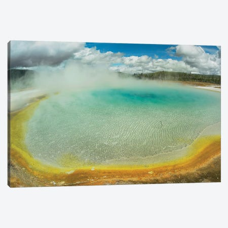 Sunset Lake, Yellowstone National Park, Wyoming Canvas Print #TFI1055} by Tim Fitzharris Canvas Print