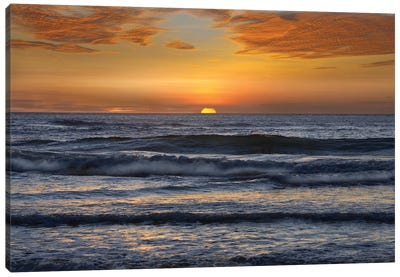 Sunset, Playa Langosta, Guanacaste, Costa Rica Canvas Art Print