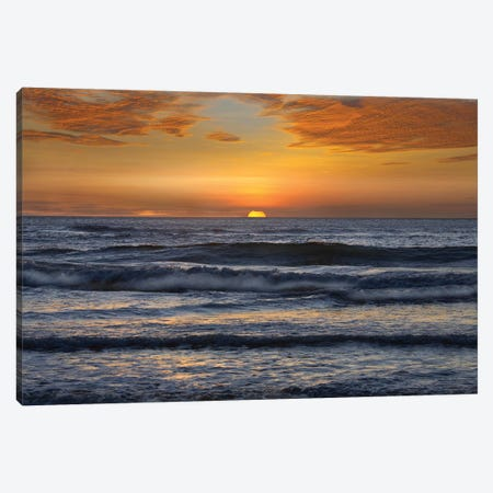 Sunset, Playa Langosta, Guanacaste, Costa Rica Canvas Print #TFI1067} by Tim Fitzharris Canvas Art