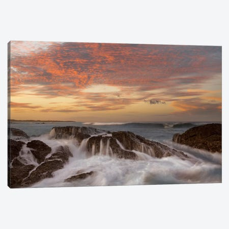 Surf, Playa Langosta, Guanacaste, Costa Rica Canvas Print #TFI1070} by Tim Fitzharris Canvas Artwork