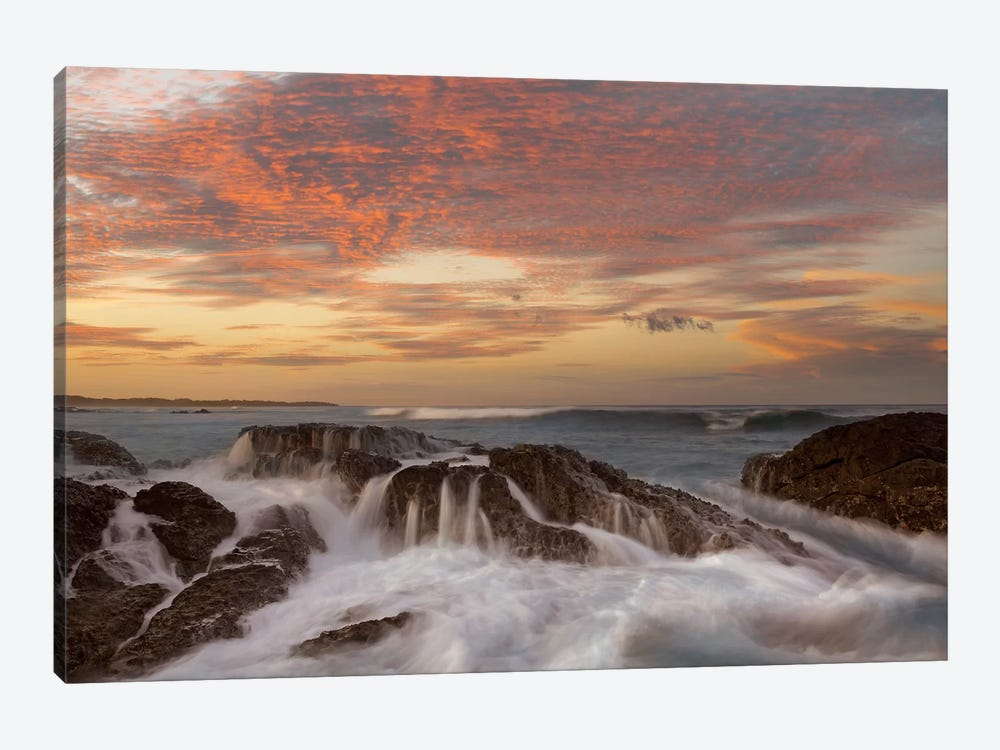 Surf, Playa Langosta, Guanacaste, Costa Rica by Tim Fitzharris 1-piece Canvas Artwork