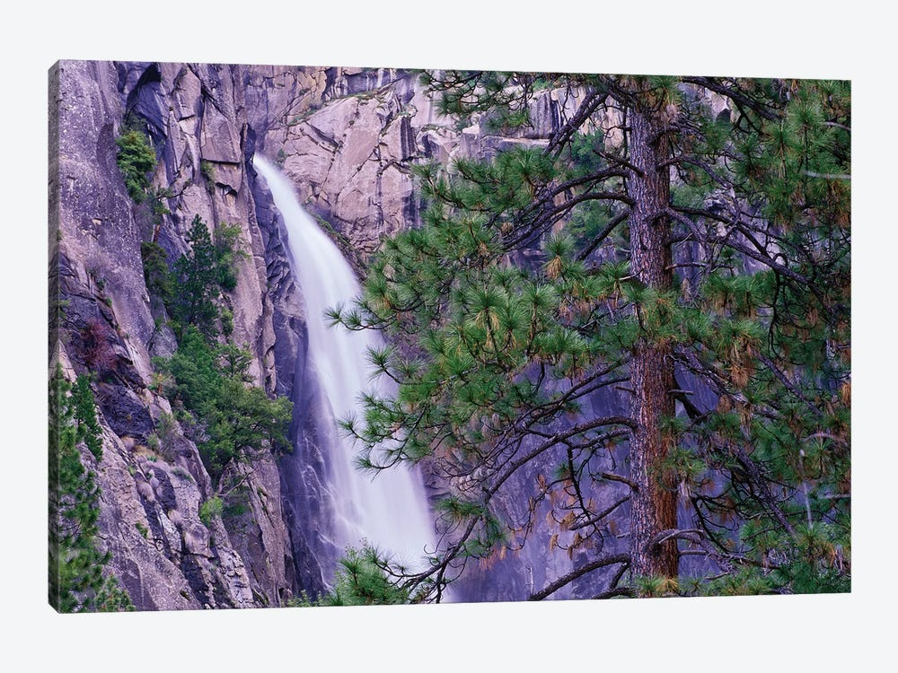 The Cascades From Yosemite National Park, California by Tim Fitzharris 1-piece Art Print