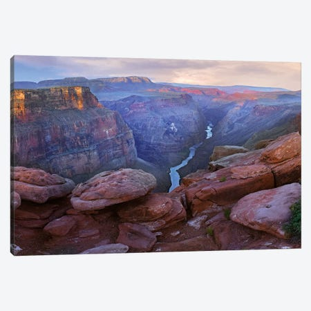 Toroweep Overlook View Of The Colorado River, Grand Canyon National Park, Arizona Canvas Print #TFI1102} by Tim Fitzharris Canvas Artwork