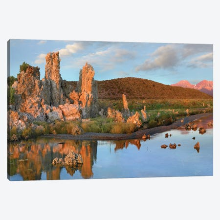 Tufa At Mono Lake, Sierra Nevada, California Canvas Print #TFI1115} by Tim Fitzharris Canvas Artwork