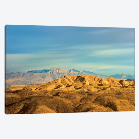 Virgin Mountains From Lake Mead National Recreation Area, Nevada Canvas Print #TFI1125} by Tim Fitzharris Canvas Art Print
