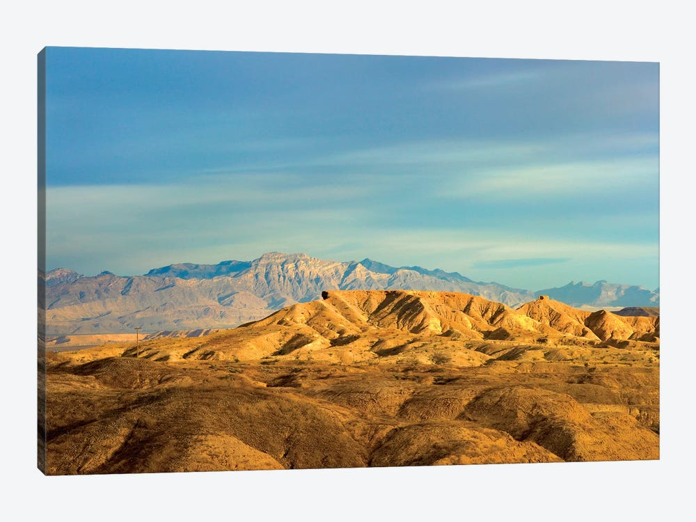 Virgin Mountains From Lake Mead National Recreation Area, Nevada by Tim Fitzharris 1-piece Canvas Print