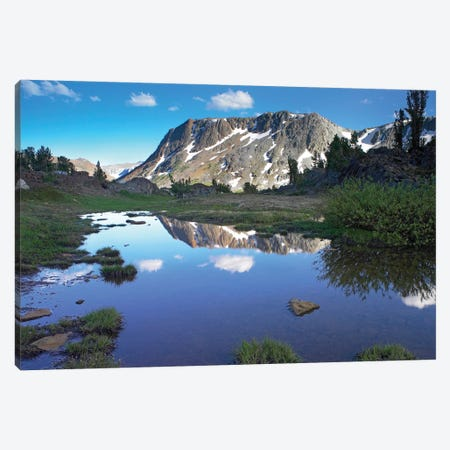 Wasco Lake, Twenty Lakes Basin, Sierra Nevada Mountains, California Canvas Print #TFI1127} by Tim Fitzharris Canvas Art Print