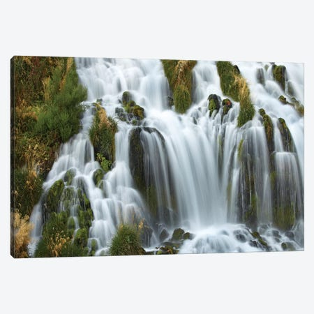 Waterfall, Niagara Springs, Thousand Springs State Park, Idaho Canvas Print #TFI1134} by Tim Fitzharris Canvas Wall Art