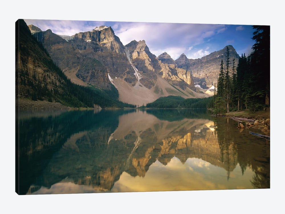 Wenkchemna Peaks And Moraine Lake, Banff National Park, Alberta, Canada by Tim Fitzharris 1-piece Art Print