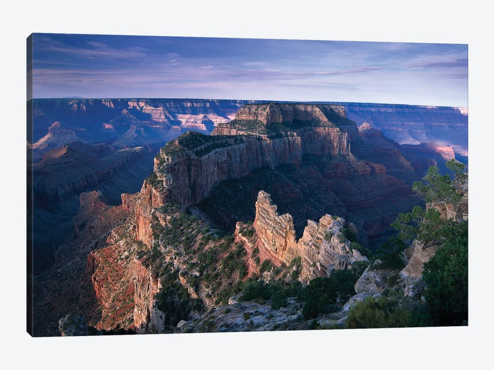 Wotans Throne From Cape Royal, North Rim, Grand Canyon National Park, Arizona by Tim Fitzharris 1-piece Canvas Wall Art
