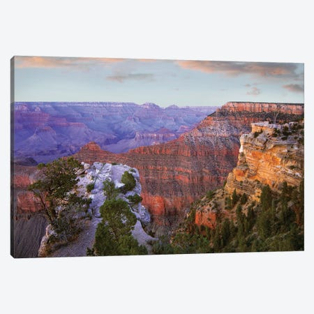 Wotan's Throne From South Rim, Grand Canyon National Park, Arizona Canvas Print #TFI1183} by Tim Fitzharris Canvas Artwork