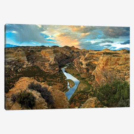 Yampa River, Dinosaur National Monument, Colorado Canvas Print #TFI1184} by Tim Fitzharris Canvas Print
