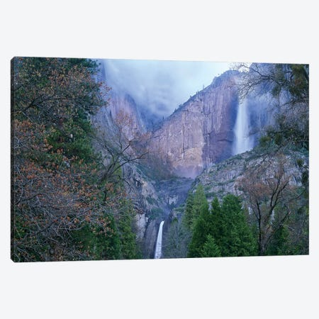 Yosemite Falls In Spring, Yosemite National Park, California Canvas Print #TFI1190} by Tim Fitzharris Canvas Print
