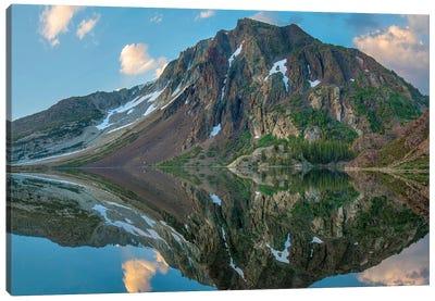 Dana Plateau From Ellery Lake, Sierra Nevada, Inyo National Forest, California I Canvas Art Print