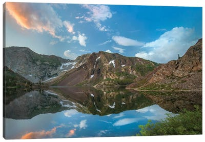 Dana Plateau From Ellery Lake, Sierra Nevada, Inyo National Forest, California II Canvas Art Print