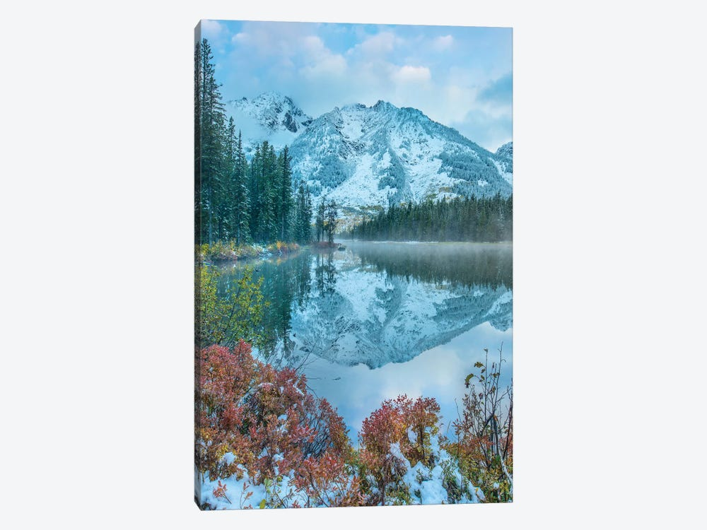 Grand Tetons From String Lake, Grand Teton National Park, Wyoming II by Tim Fitzharris 1-piece Canvas Art Print