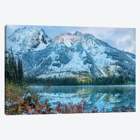 Grand Tetons From String Lake, Grand Teton National Park, Wyoming III Canvas Print #TFI1208} by Tim Fitzharris Canvas Print
