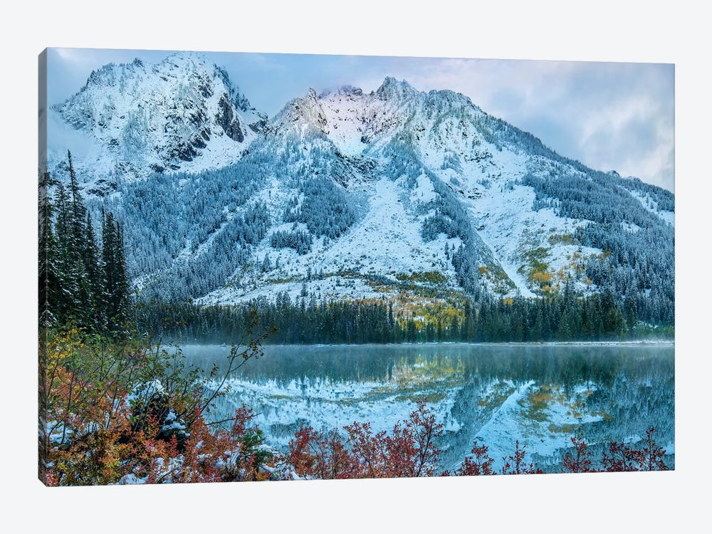 Grand Tetons From String Lake, Grand Teton National Park, Wyoming III by Tim Fitzharris 1-piece Canvas Wall Art