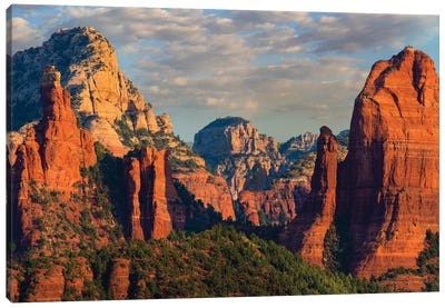 Mountains, Red Rock-Secret Mountain Wilderness, Arizona I Canvas Art Print