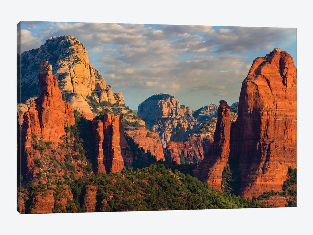 Mountains, Red Rock-Secret Mountain Wilderness, Arizona I by Tim Fitzharris 1-piece Canvas Art Print