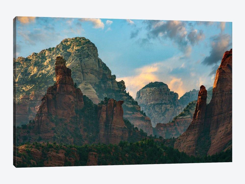 Mountains, Red Rock-Secret Mountain Wilderness, Arizona II by Tim Fitzharris 1-piece Canvas Artwork
