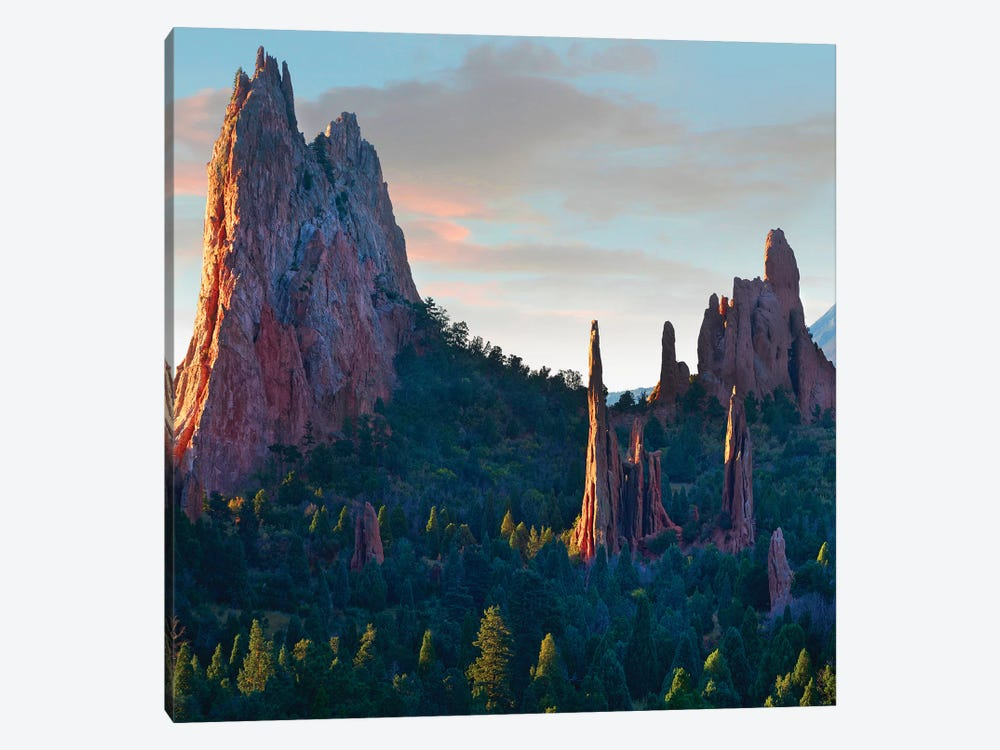 Garden of the Gods at sunrise, Colorado USA by Tim Fitzharris 1-piece Canvas Art