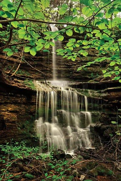 Pearly Creek Falls Buffalo River Trail Arka Tim