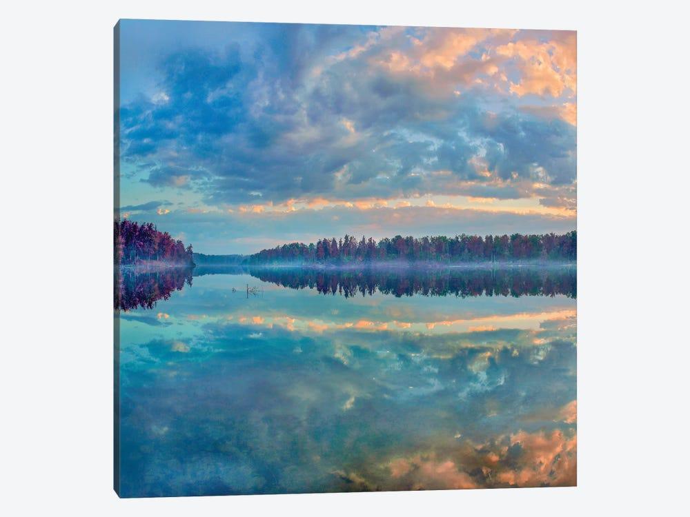Clouds, Lake Jean, Ricketts Glen State Park, Pennsylvania by Tim Fitzharris 1-piece Canvas Art