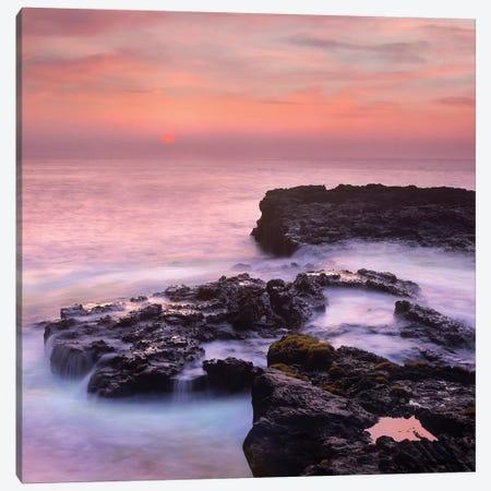 Coastal Sunset, Pu'Uhonua, Big Island, Hawaii Canvas Print #TFI1289} by Tim Fitzharris Art Print