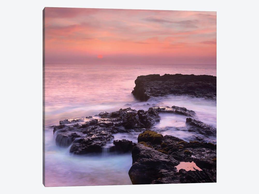 Coastal Sunset, Pu'Uhonua, Big Island, Hawaii by Tim Fitzharris 1-piece Canvas Print