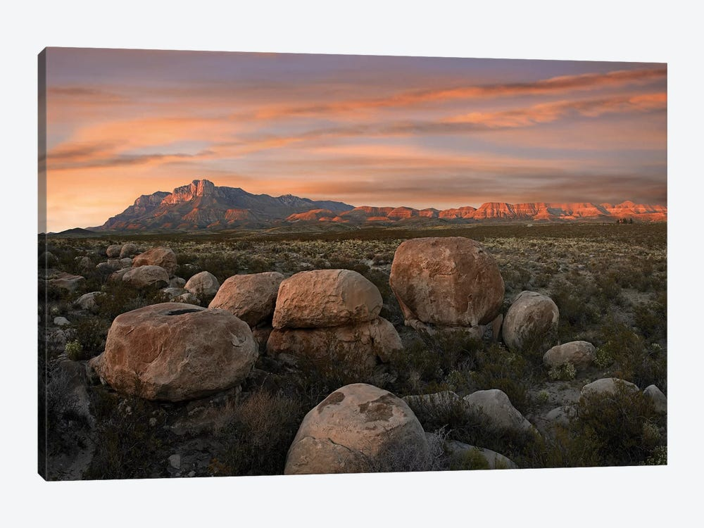 Boulders At Guadalupe Mountains National Park, Texas by Tim Fitzharris 1-piece Canvas Wall Art