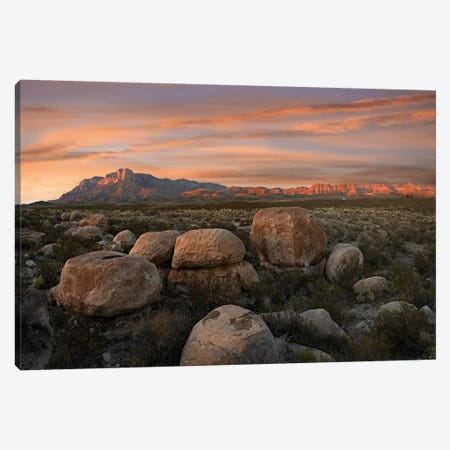 Boulders At Guadalupe Mountains National Park, Texas Canvas Print #TFI129} by Tim Fitzharris Canvas Print