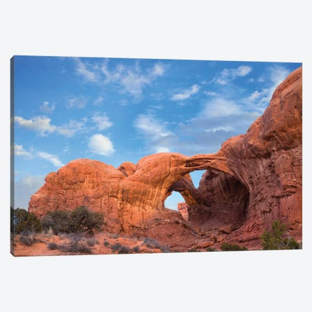 Double Arch, Arches National Park, Utah Canvas Print #TFI1311} by Tim Fitzharris Canvas Print
