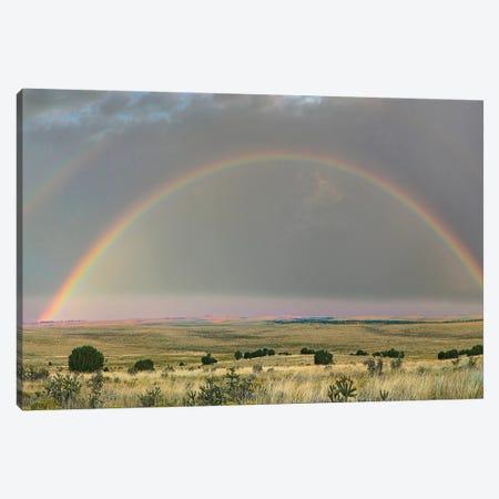 Double Rainbow, Apishapa State Wildlife Area, Colorado Canvas Print #TFI1312} by Tim Fitzharris Art Print