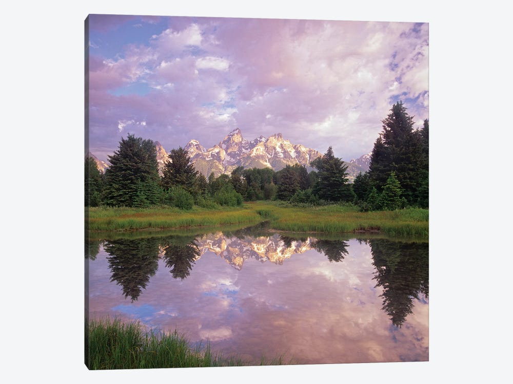 Grand Teton Reflection, Grand Teton National Park, Wyoming by Tim Fitzharris 1-piece Canvas Artwork