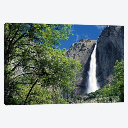 Bridal Veil Falls, Yosemite National Park, California Canvas Print #TFI132} by Tim Fitzharris Canvas Art