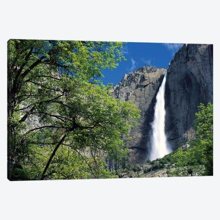 Bridal Veil Falls, Yosemite National Park, California Canvas Print #TFI132} by Tim Fitzharris Canvas Art