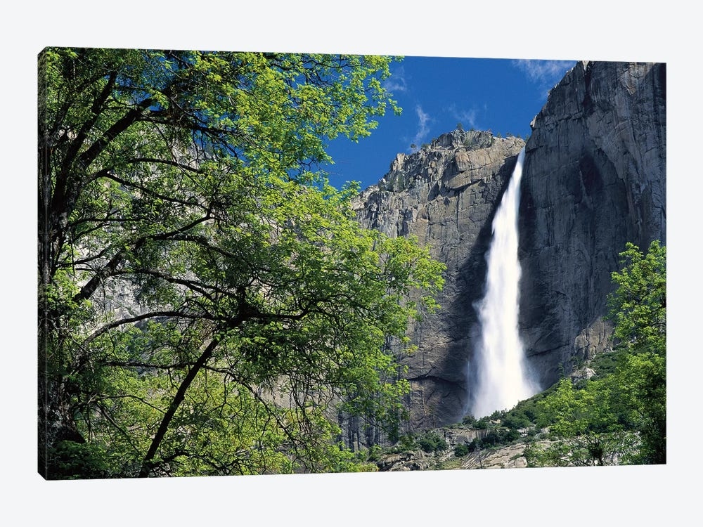 Bridal Veil Falls, Yosemite National Park, California by Tim Fitzharris 1-piece Canvas Art