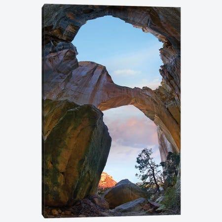 La Ventana Arch Sunrise, El Malpais Nm, New Mexico Canvas Print #TFI1345} by Tim Fitzharris Canvas Art Print