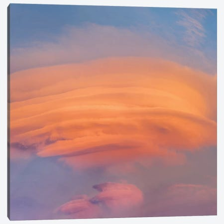 Lenticular Clouds At Sunset, North America Canvas Print #TFI1352} by Tim Fitzharris Canvas Art Print