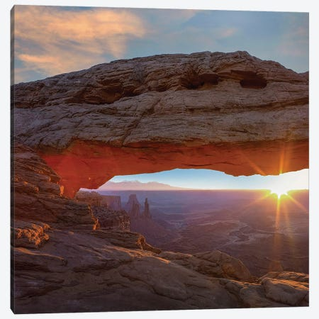 Mesa Arch, Canyonlands National Park, Utah Canvas Print #TFI1364} by Tim Fitzharris Art Print