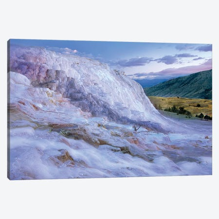 Minerva Terrace Hot Spring, Yellowstone National Park, Wyoming Canvas Print #TFI1371} by Tim Fitzharris Canvas Art Print