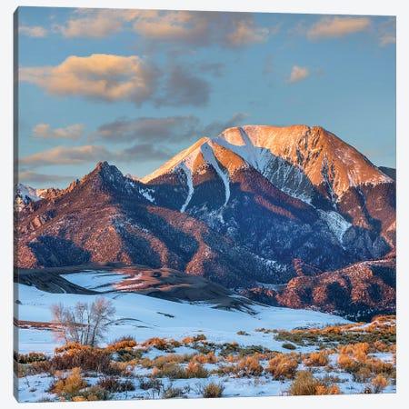 Mount Herard, Great Sand Dunes National Park, Sangre De Cristo Range, Colorado Canvas Print #TFI1377} by Tim Fitzharris Canvas Artwork