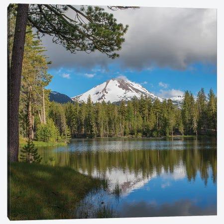 Mt Lassen From Manzanita Lake, Lassen Volcanic National Park, California Canvas Print #TFI1383} by Tim Fitzharris Canvas Artwork